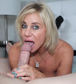 Nude Mature Blowjob Porn Pictures