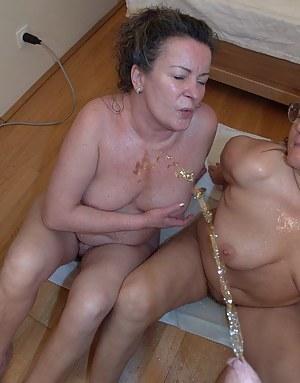 Nude Mature FFM Porn Pictures