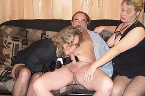 Nude Mature Threesome Porn Pictures