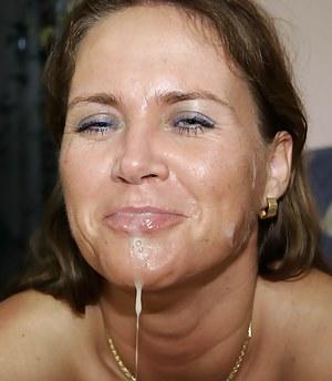 Nude Mature Facial Porn Pictures