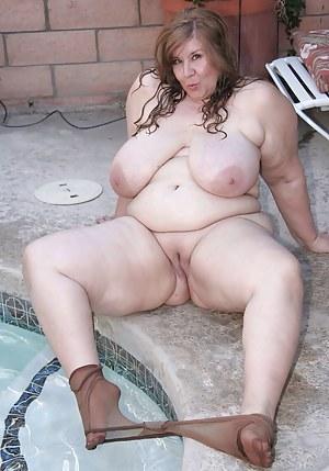 Nude Mature SSBBW Porn Pictures